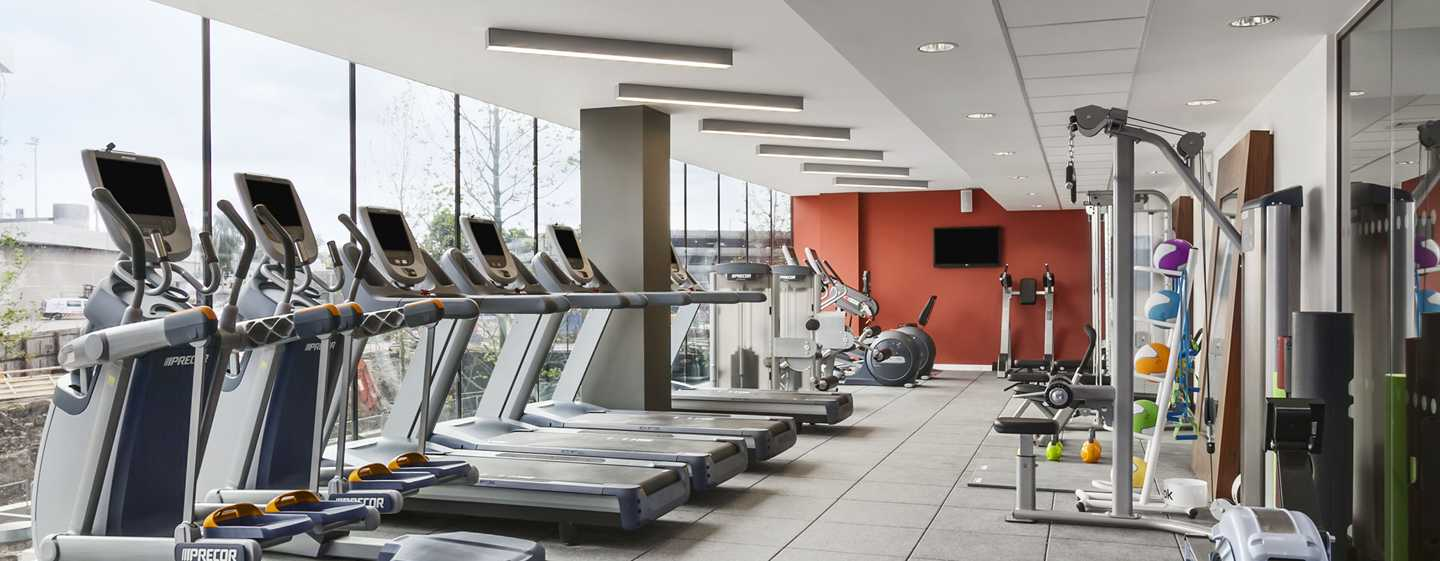 Hilton London Wembley Hotel, Großbritannien – Fitness Center