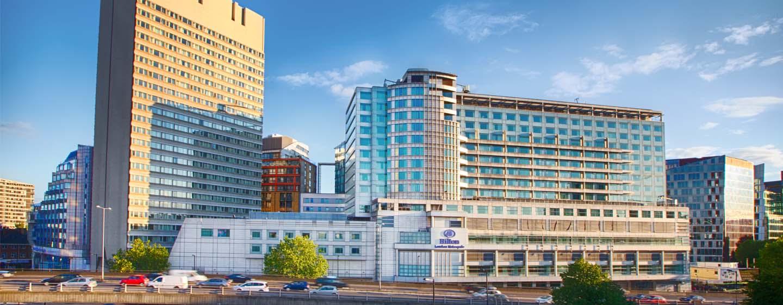Hilton London Metropole -hotelli – hotelli ulkopuolelta