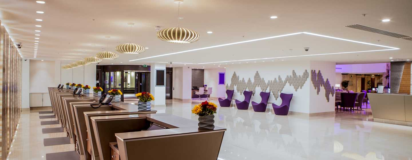 Hilton London Metropole Hotel – hotelreception