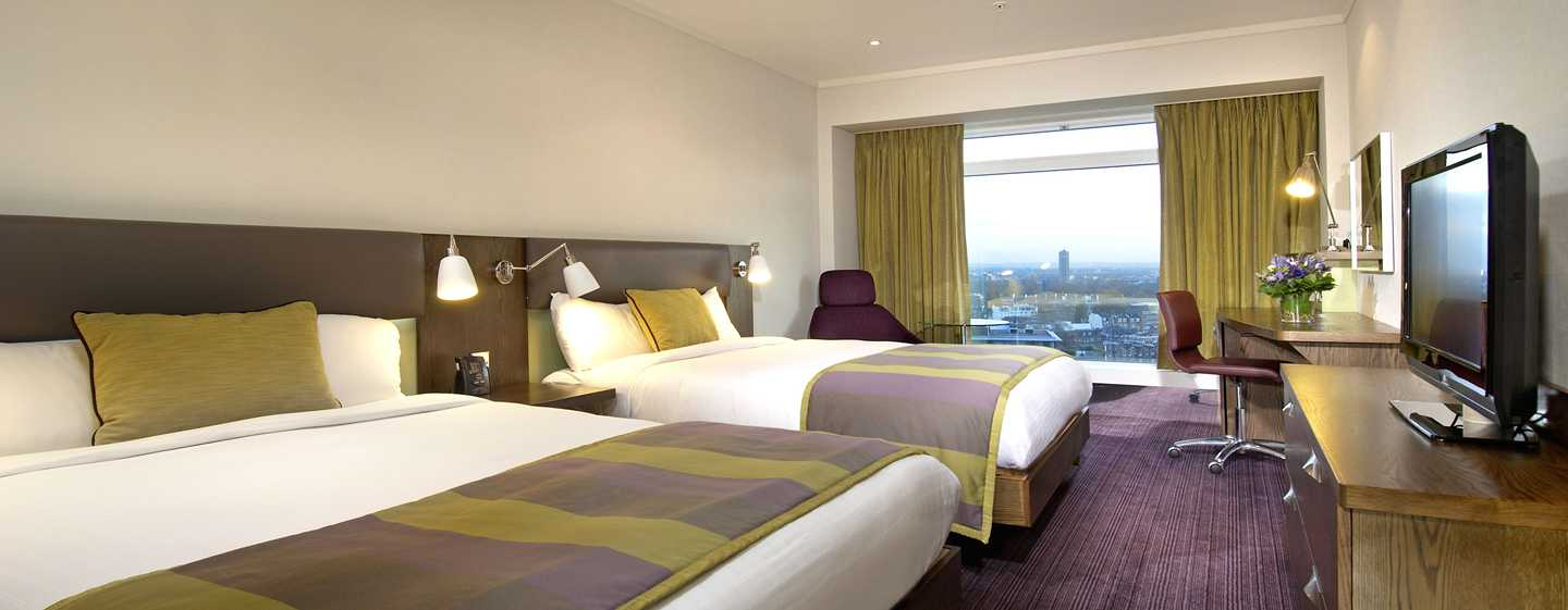 Hotel Hilton London Metropole, Regno Unito - Camera Superior con letto queen size