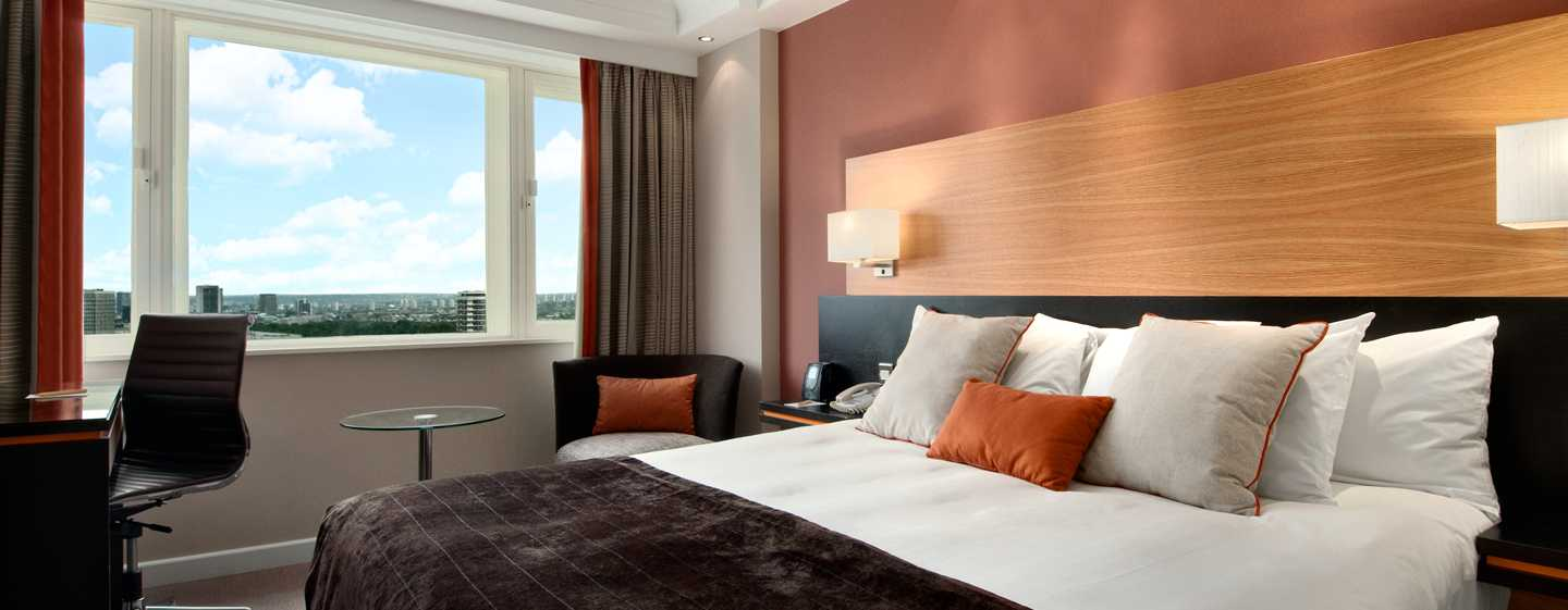 Hilton London Metropole Hotel – Hilton Deluxe king-værelse