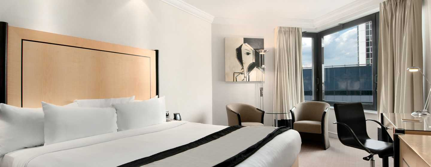 Hotel Hilton London Metropole, Regno Unito - Camera Hilton Executive con letto king size
