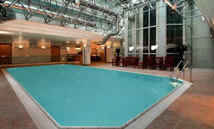 Hilton London Metropole Hotel – indendørs pool