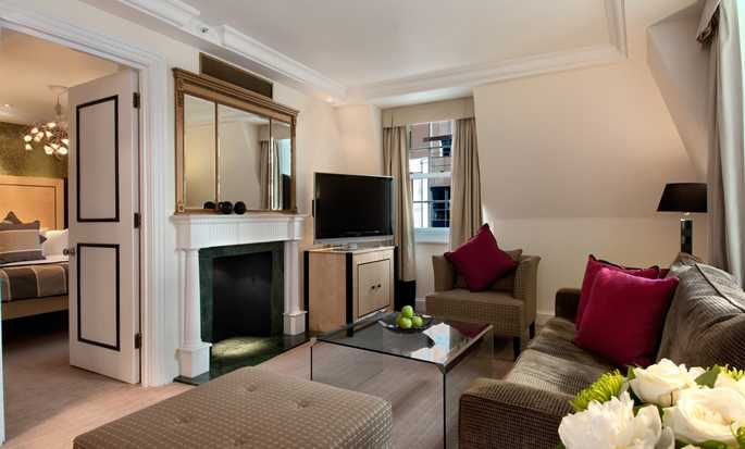 Hotel Hilton London Metropole - Suite con cama King