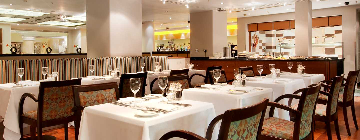 Hilton London Paddington, Storbritannia - The Brasserie Restaurant