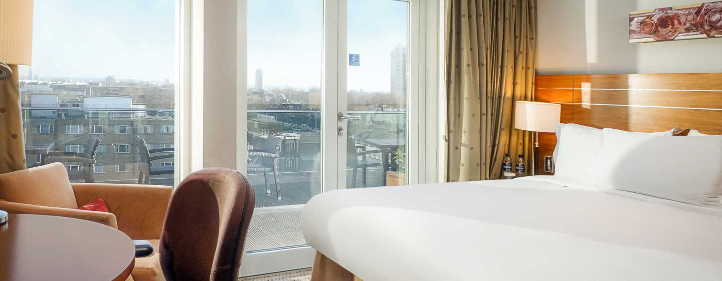 Hilton London Paddington, Großbritannien – Executive Suite mit Terrasse