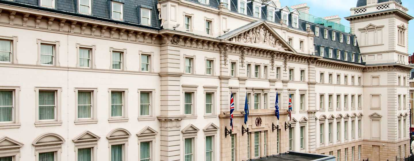 Hilton London Paddington, Storbritannien – Hotellets fasad