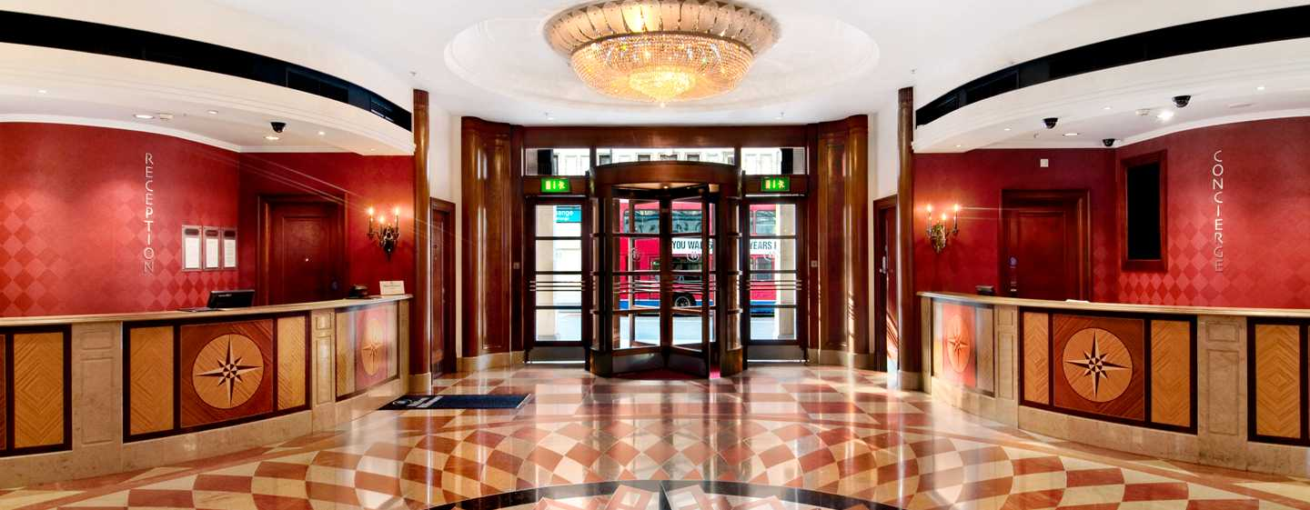Hotell Hilton London Paddington, Storbritannia – Hotellets lobby