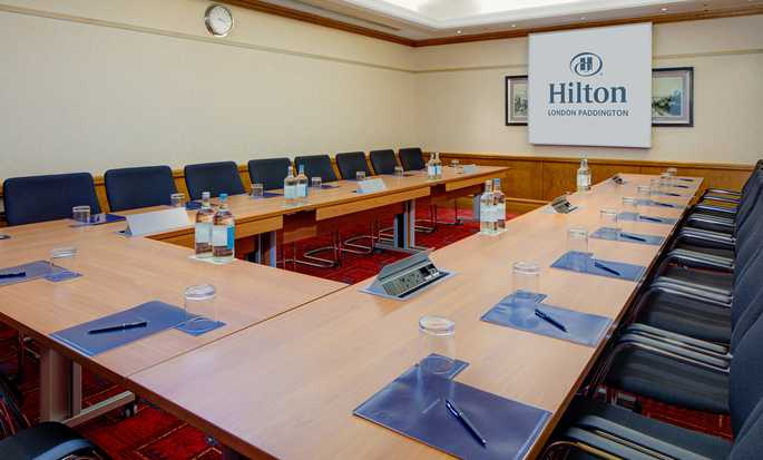 Hilton London Paddington hotel, Storbrittanien - King George V U-formade konferensbord