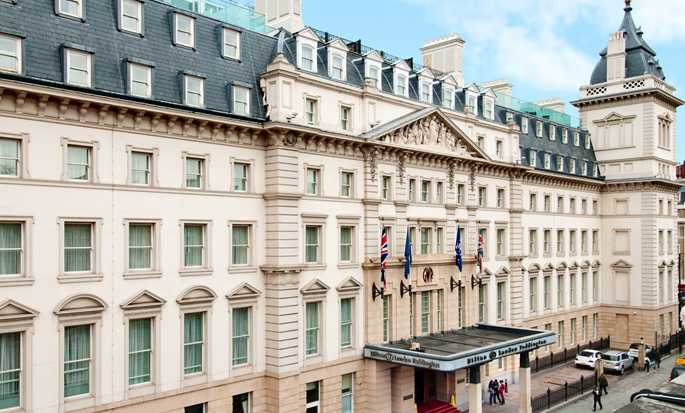 Hilton London Paddington Hotel, Storbritannien – Hotellets fasad