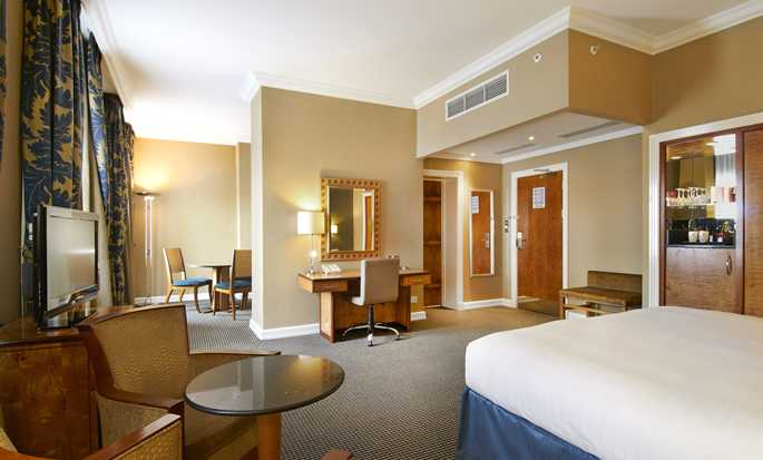 Hotel Hilton London Paddington, Reino Unido – Suíte Junior King