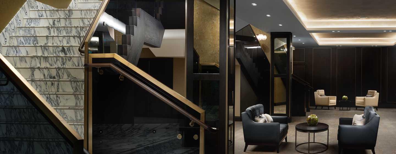 Hilton London Bankside, GB– Foyer des Bankside