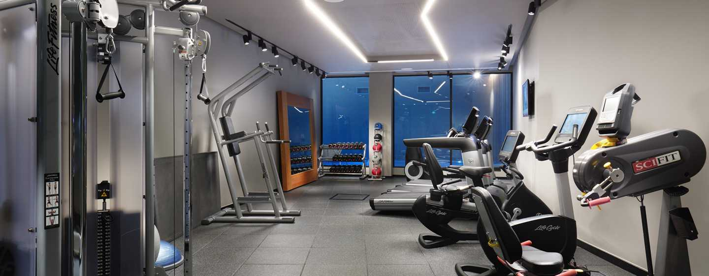 Hilton London Bankside, GB– Fitnessraum