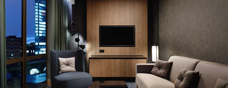 Hilton London Bankside, GB– Suite mit einem Schlafzimmer– Wohnbereich