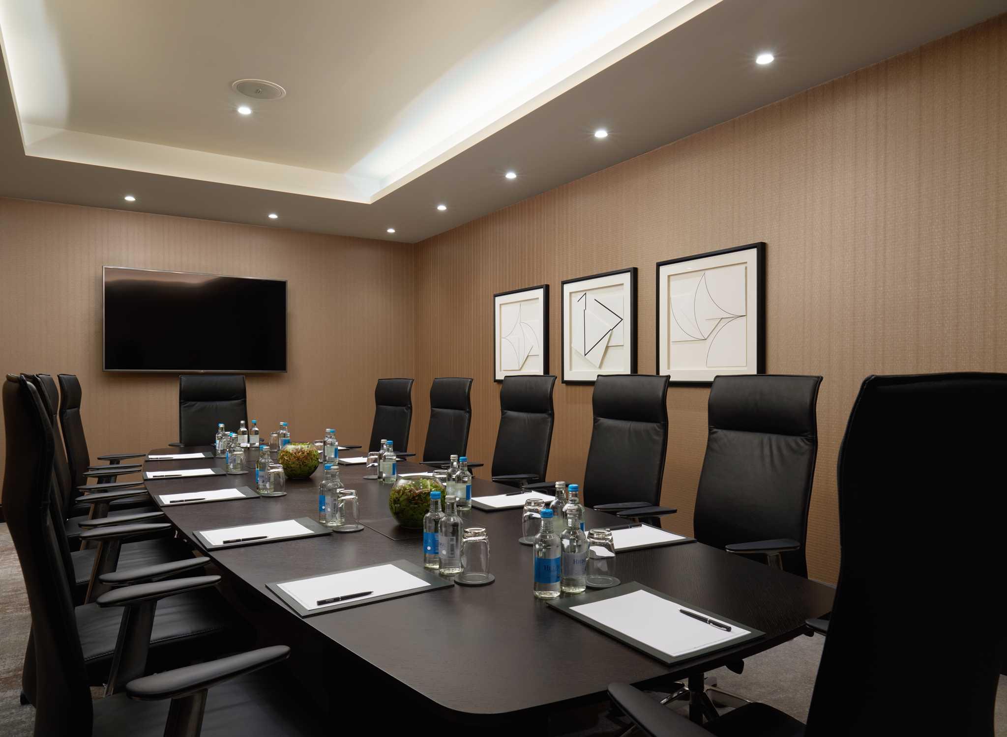 Hilton london bankside nuevo hotel cerca de the shard for Sala de reuniones