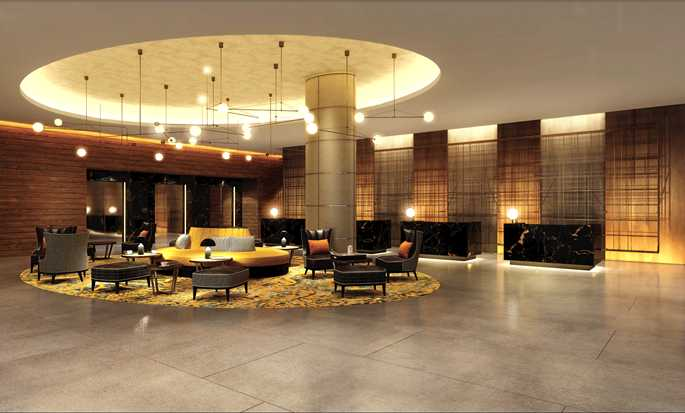 Hilton London Bankside, Reino Unido - Lobby