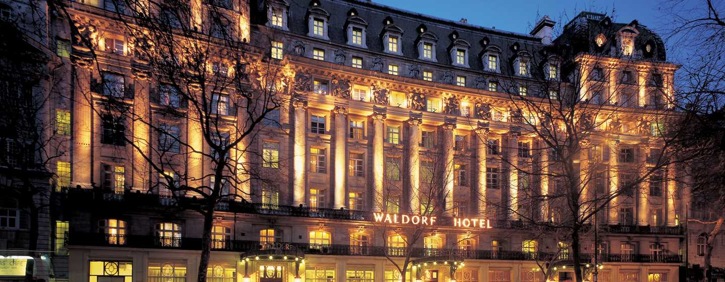 The Waldorf Hilton, London – Edvardiansk elegans