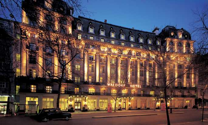 The Waldorf Hilton, London – Fasad