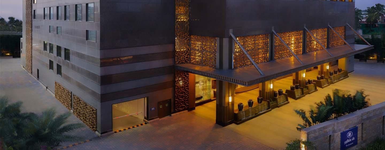 Hilton Chennai Hotel, Indien – Außenansicht