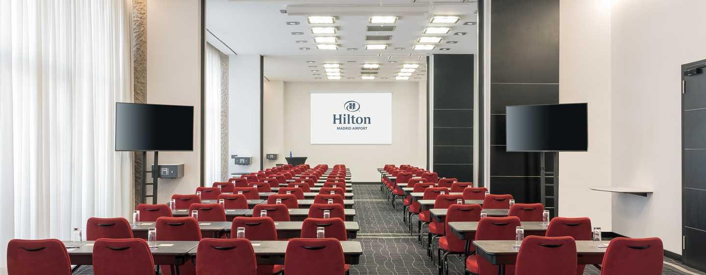 Hilton Madrid Airport, Spain - Meeting Rooms