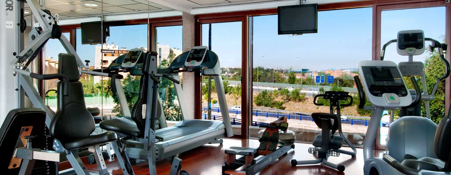Hilton Madrid Airport, Spanien – Fitness Center