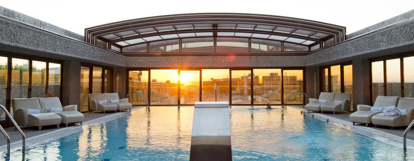 Hilton Madrid Airport, Spain - Outdoor Swimming Pool