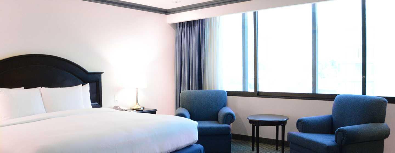 Hotel Hilton Mexico City Airport, México - Habitación Executive con cama King