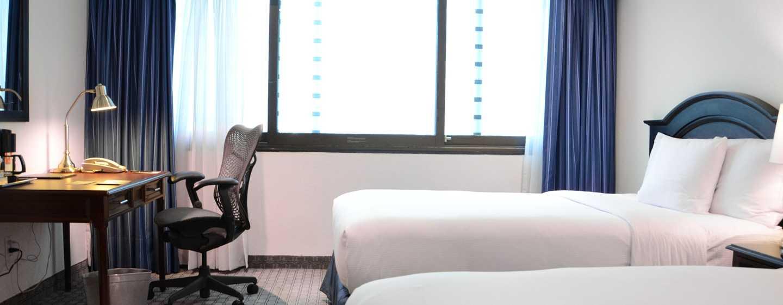 Hotel Hilton Mexico City Airport, México - Habitación con cama doble