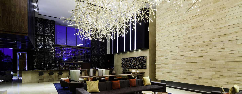 Hotel Hilton Mexico City Santa Fe, México - Sala de estar del lobby