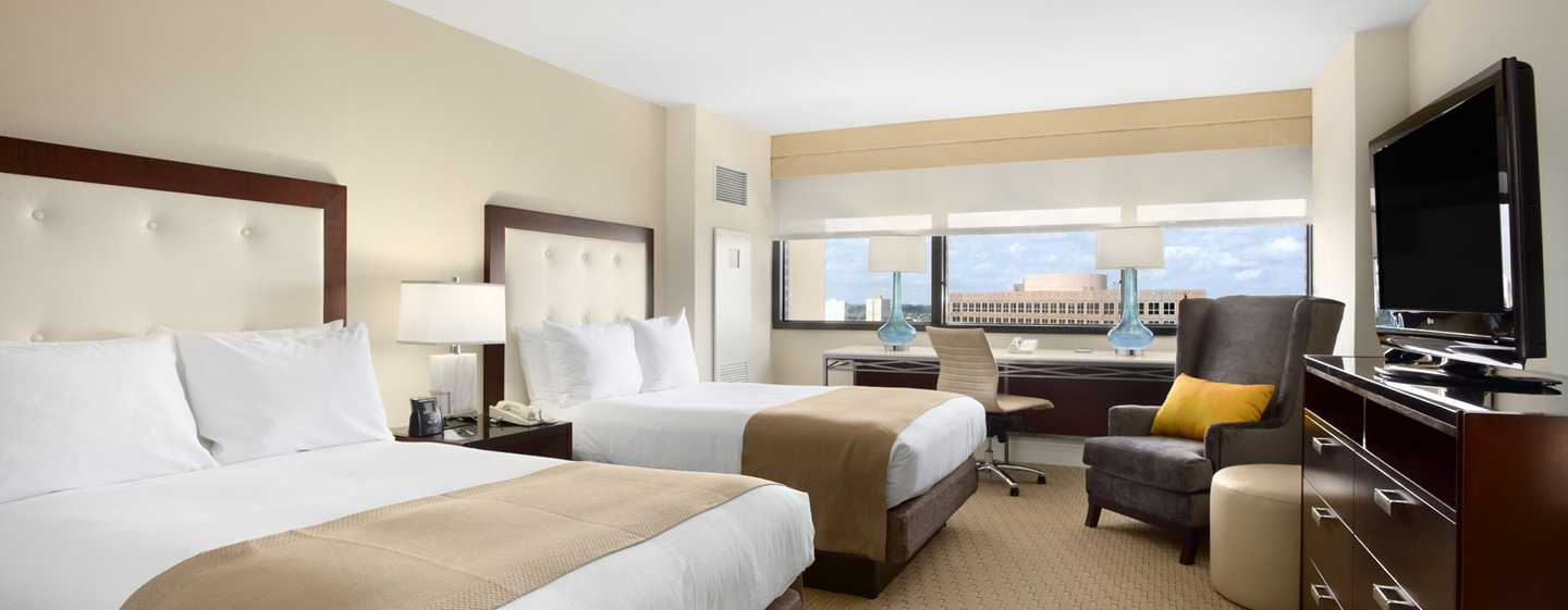 Hotel Hilton Miami Airport, Florida - Suite con cama doble