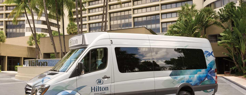 Hotel Hilton Miami Airport Blue Lagoon, Florida - Servicio de traslado de cortesía