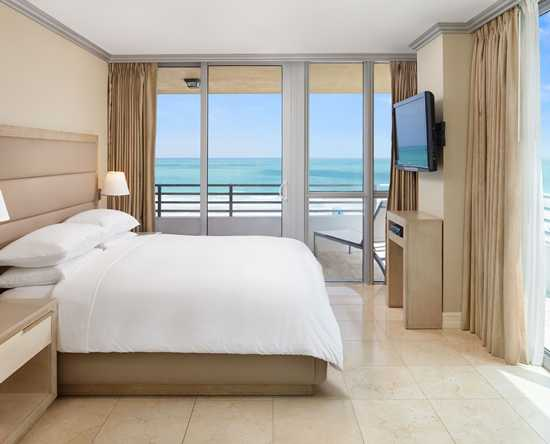 Hilton Bentley Miami/South Beach, Florida - Suite de dos dormitorios frente al mar