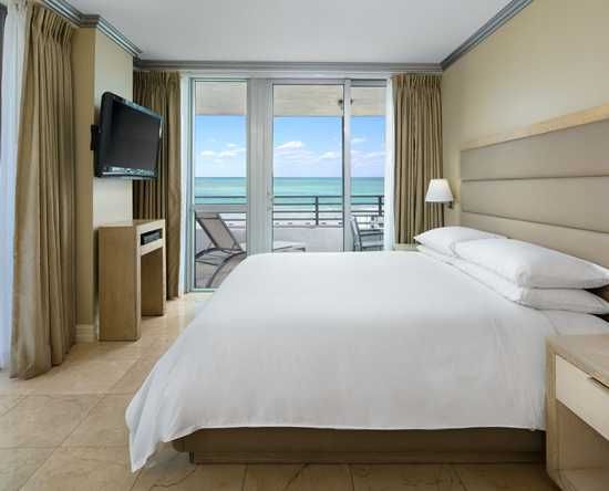 Hilton Bentley Miami/South Beach, Florida - Suite de un dormitorio frente al mar