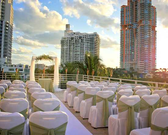 Hilton Bentley Miami/South Beach, Florida - Ceremonia