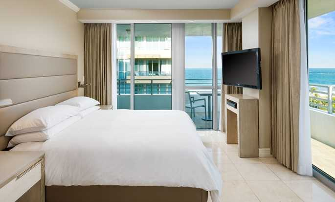Hilton Bentley Miami/South Beach, Flórida – Quarto com vista para o mar