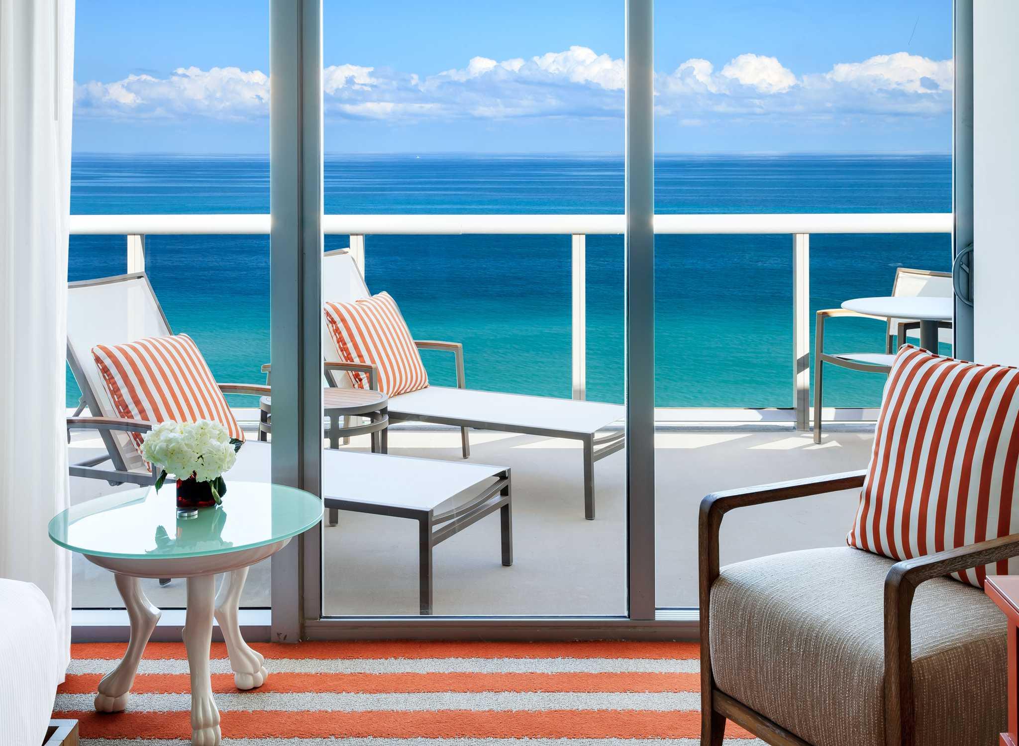 Hilton Cabana Miami Beach Hotel View From Balcony