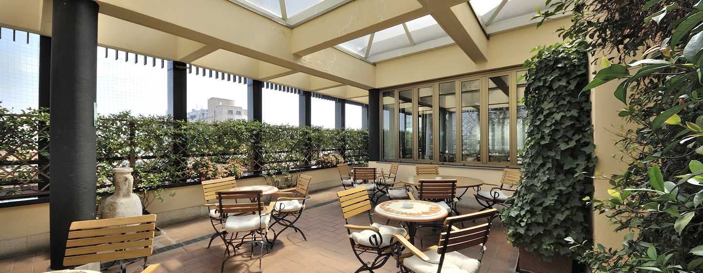 Hotel Hilton Milan, Italia - Terrazza dell'Executive Lounge