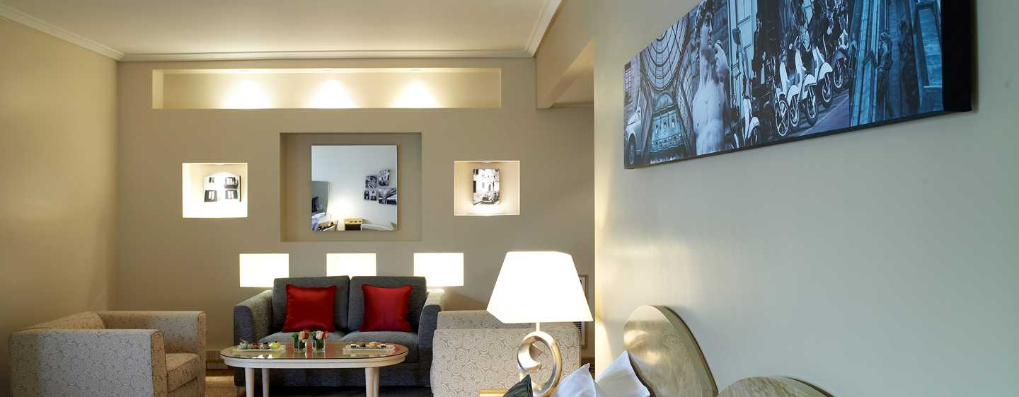 Hilton Milan hotel, Italy - King junior Suite