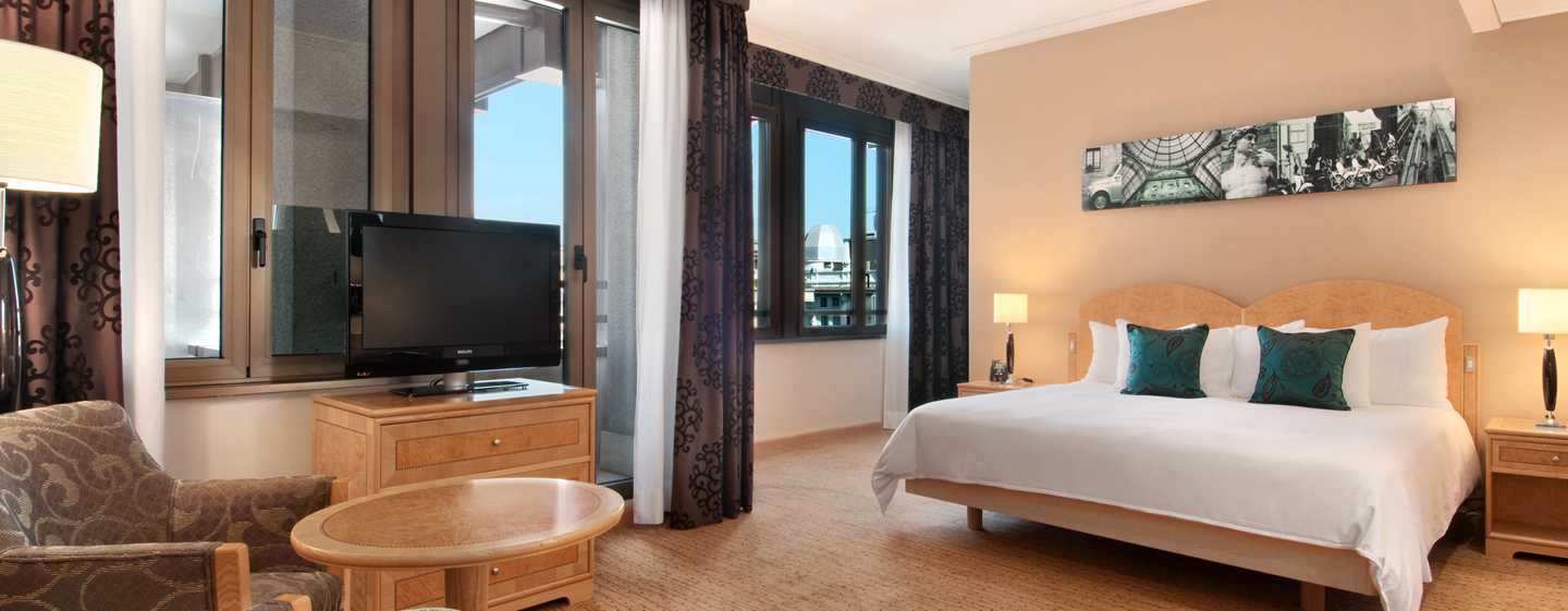 Hotel Hilton Milan, Italia - Camera Hilton Executive con letto king size