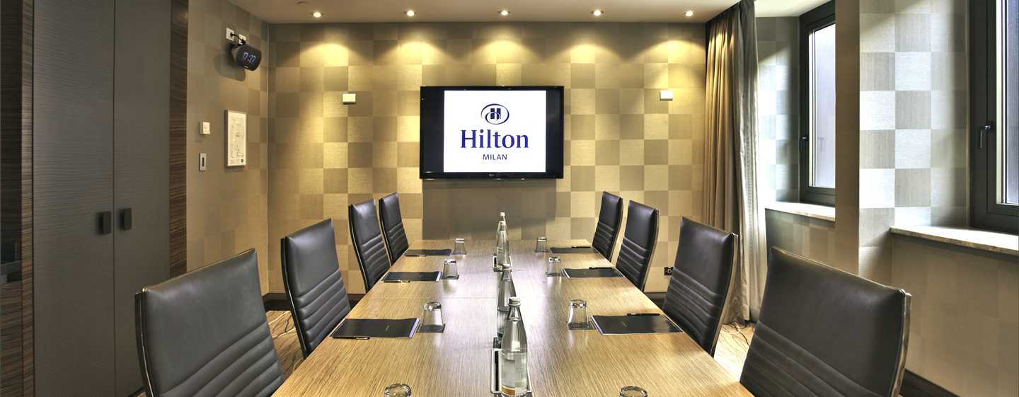 Hilton Milan hotel, Italy - Meeting room