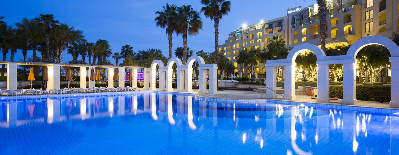Hilton Malta hotel, St. Julian's, Malta - Infinity pool