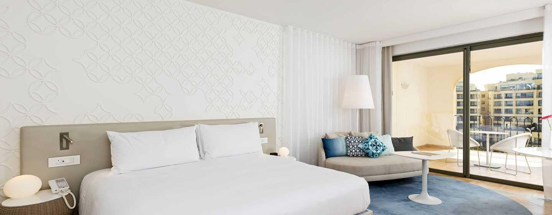 Hilton Malta hotel, St. Julian's, Malta - Deluxe kamer met uitzicht op de jachthaven