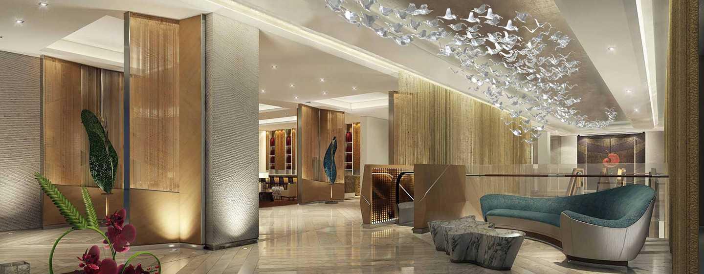 Hilton Manila, Filipina - Lobi