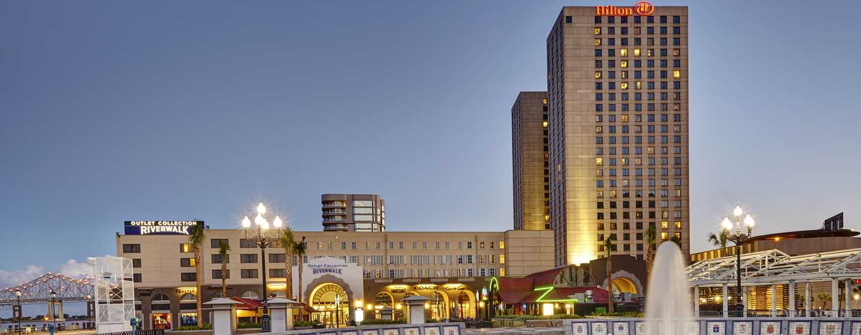 Hilton New Orleans Riverside Hotel Vista Exterior