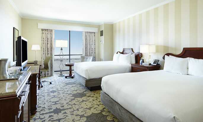 Hilton New Orleans Riverside hotel  - Deluxe Room with two queen beds