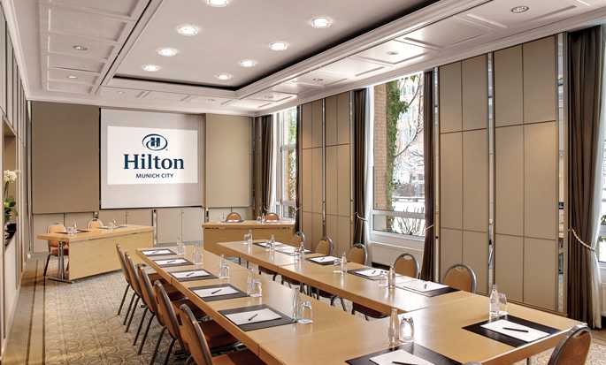 Hilton Munich City Hotel - Salon Studer