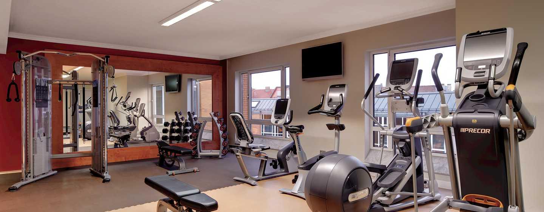 Hilton Munich City, Deutschland - Fitness Lounge