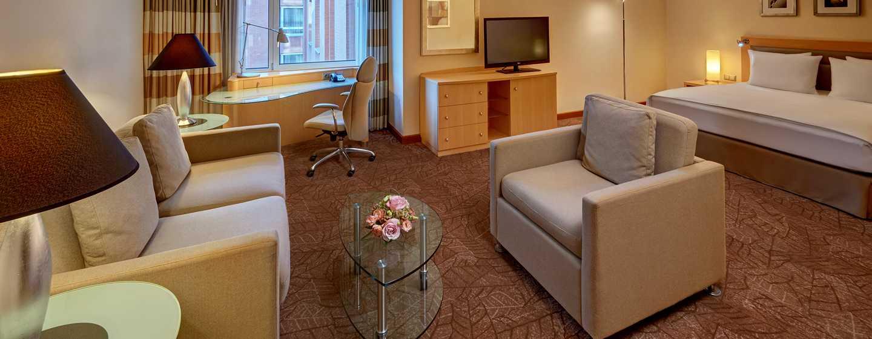 Hilton Munich City, Deutschland - Junior Suite mit Kingsize-Bett