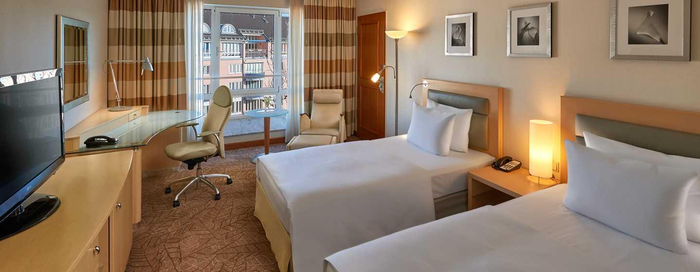 Hotel Hilton Munich City, Alemanha – Quarto Twin Deluxe