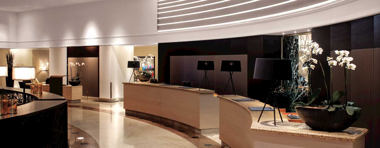 Hotel Hilton Munich Park, Alemanha – Balcão de recepção